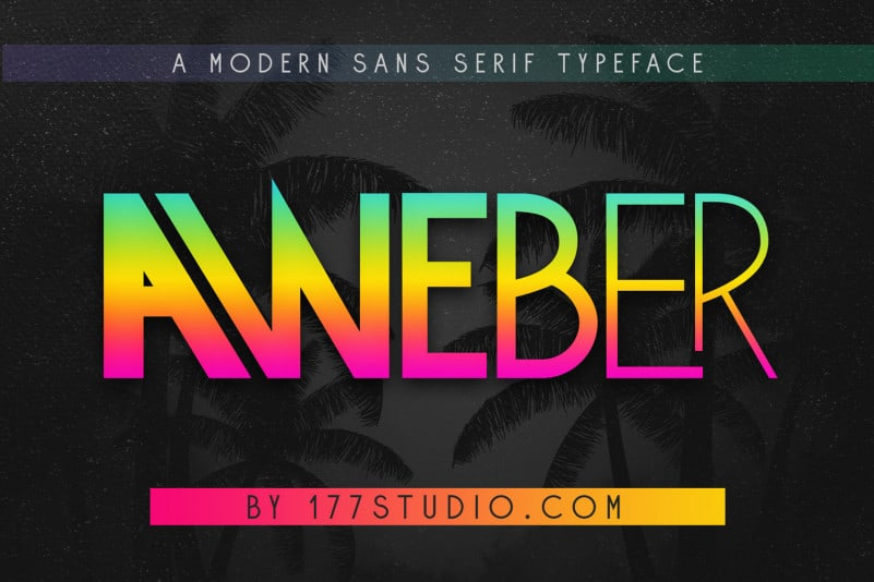 Aweber – Modern Sans Serif Font