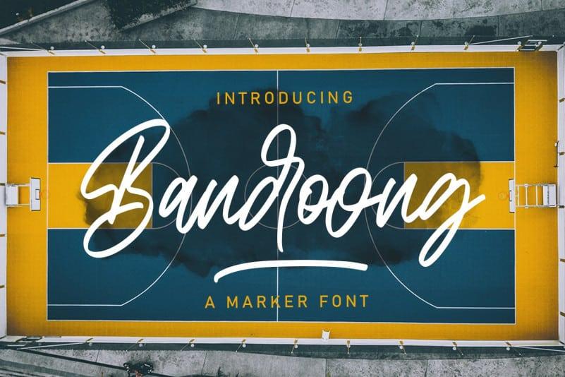 Bandoong Script Font