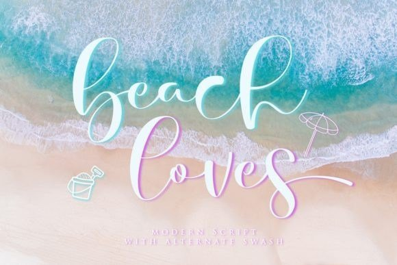 Beach Loves Font