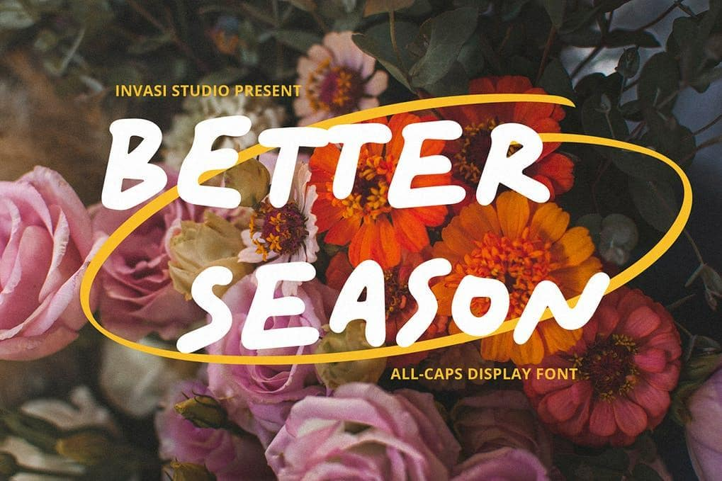 Better Season Display Font