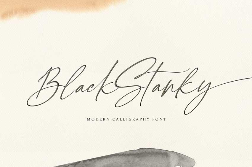 Black Stanky Font