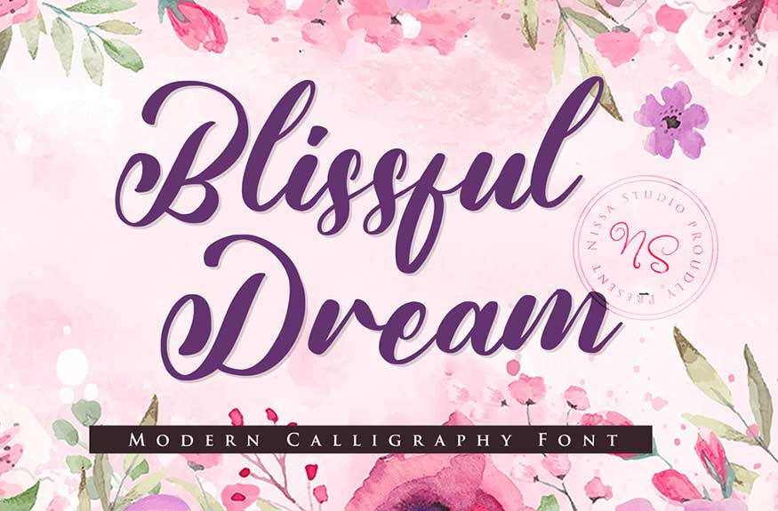 Blissful Dream Font