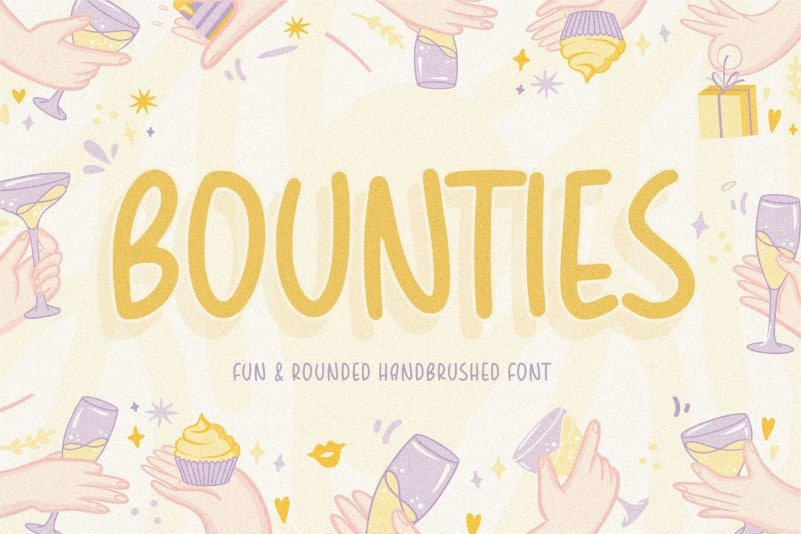 Bounties Display Font