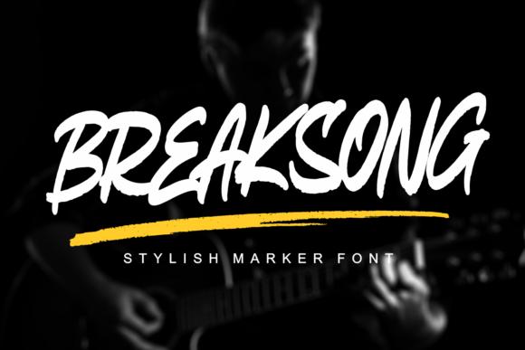 Breaksong Font