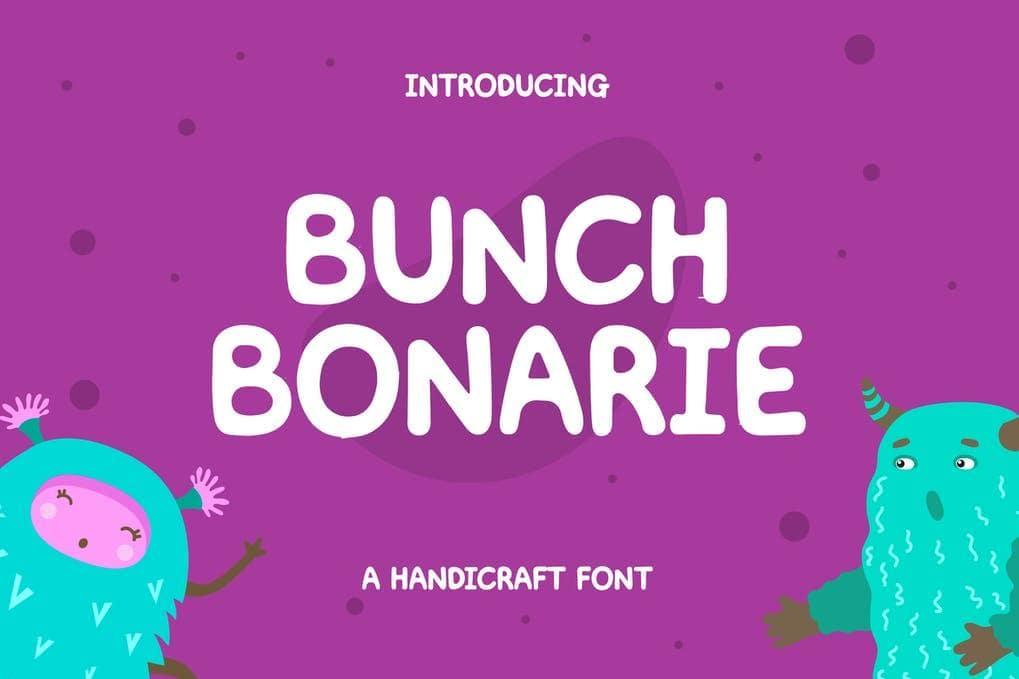 Bunch Bonarie Sans Serif Font