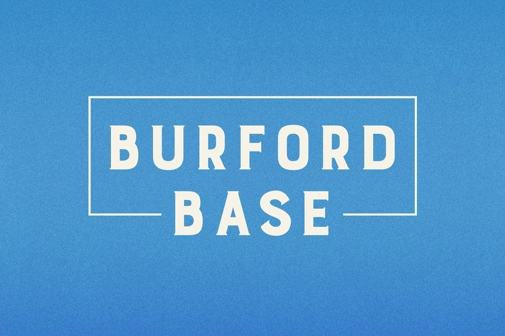 Burford Base Font