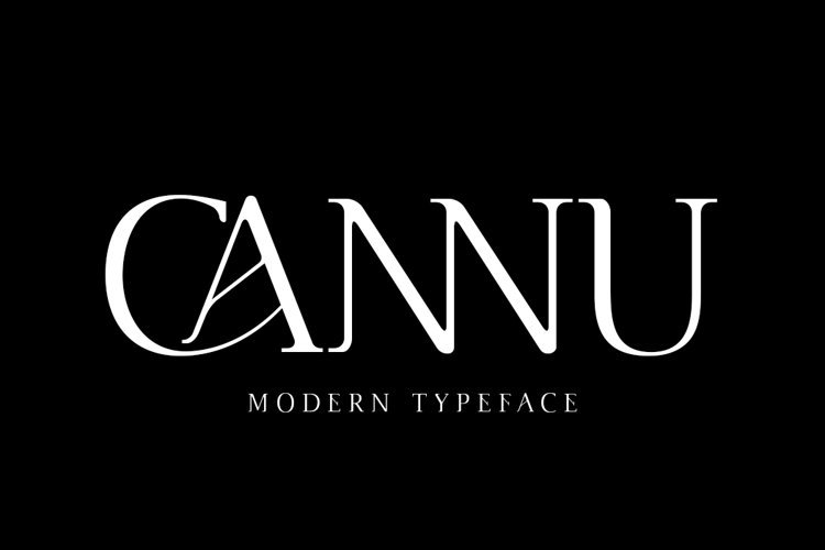 Cannu - Modern Typeface