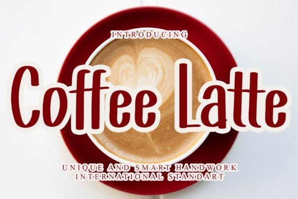 Coffee Latte Font