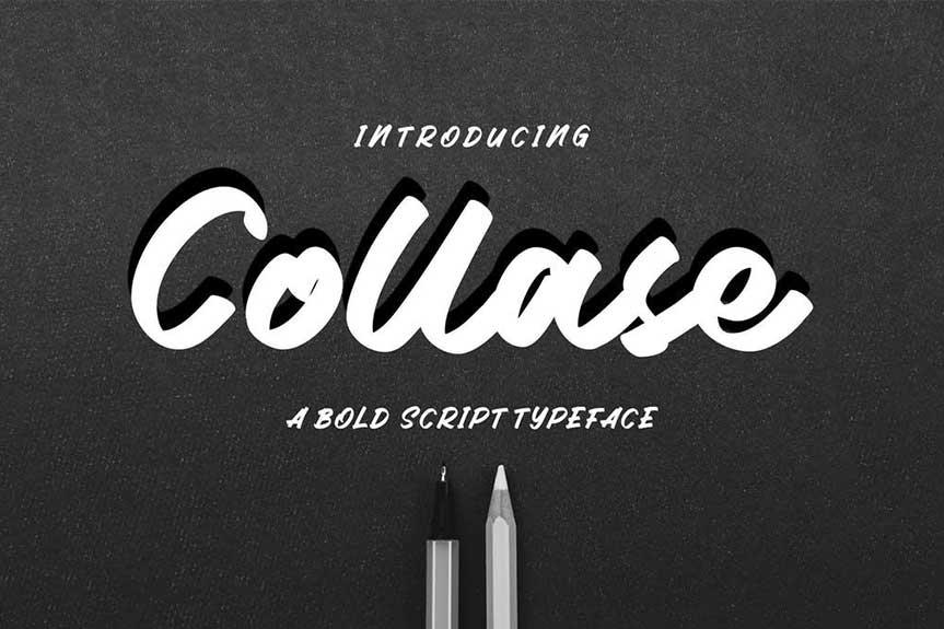 Collase - Bold Script