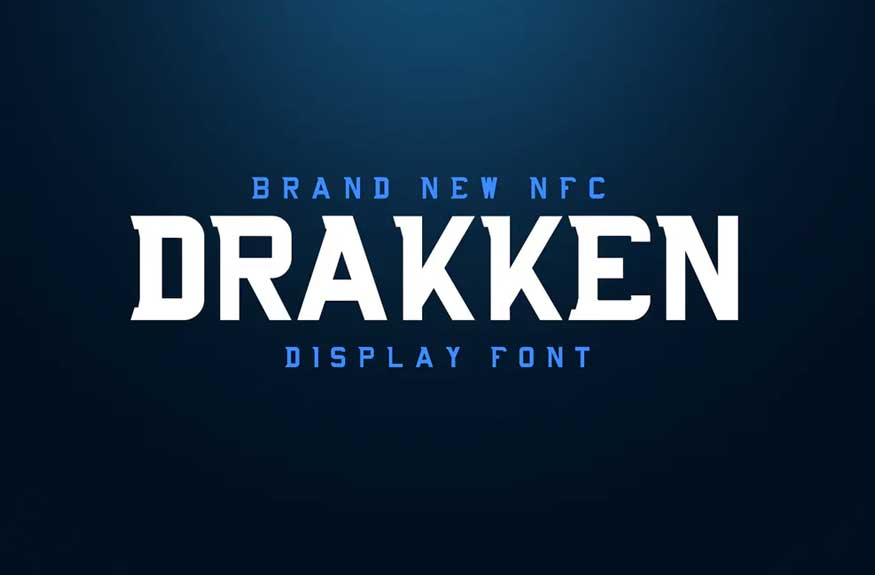 DRAKKEN EXCLUSIVE DISPLAY FONT