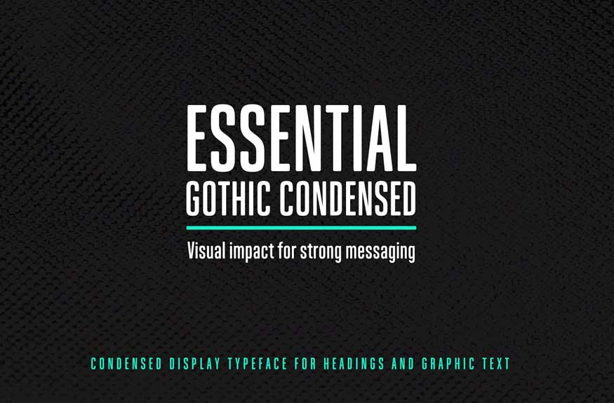 Essential Gothic Condensed