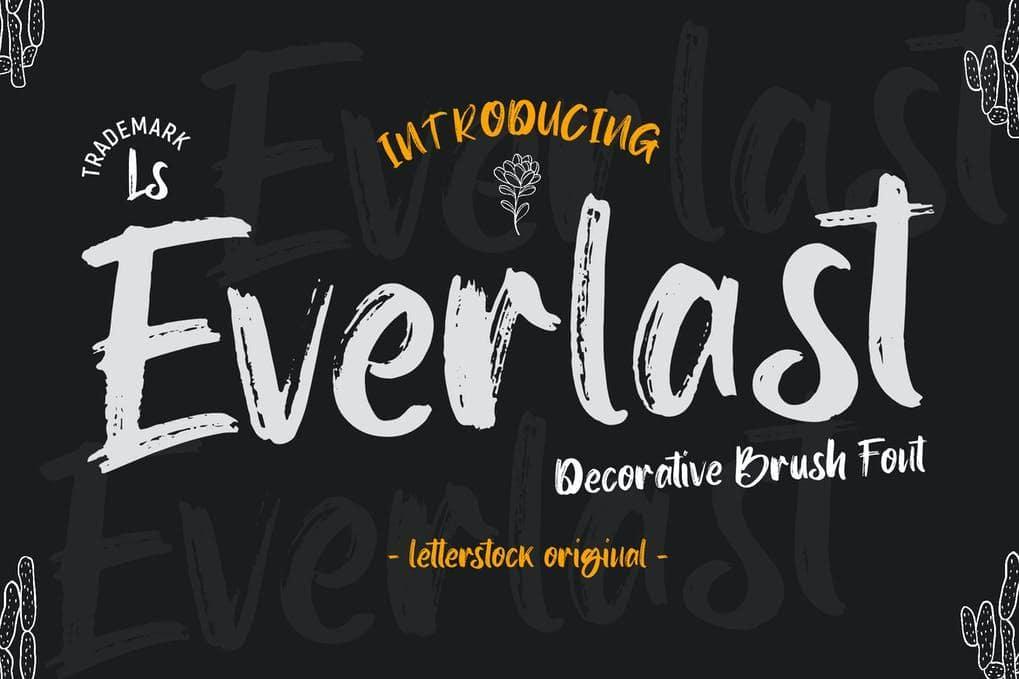 Everlast Font