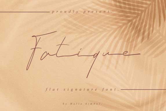 Fatique Font