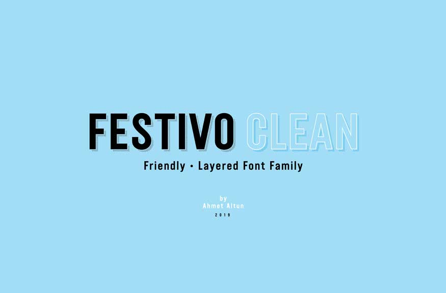 Festivo Clean Font