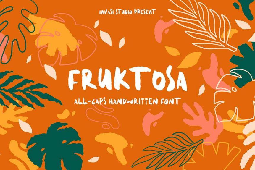 Fruktosa Display Font
