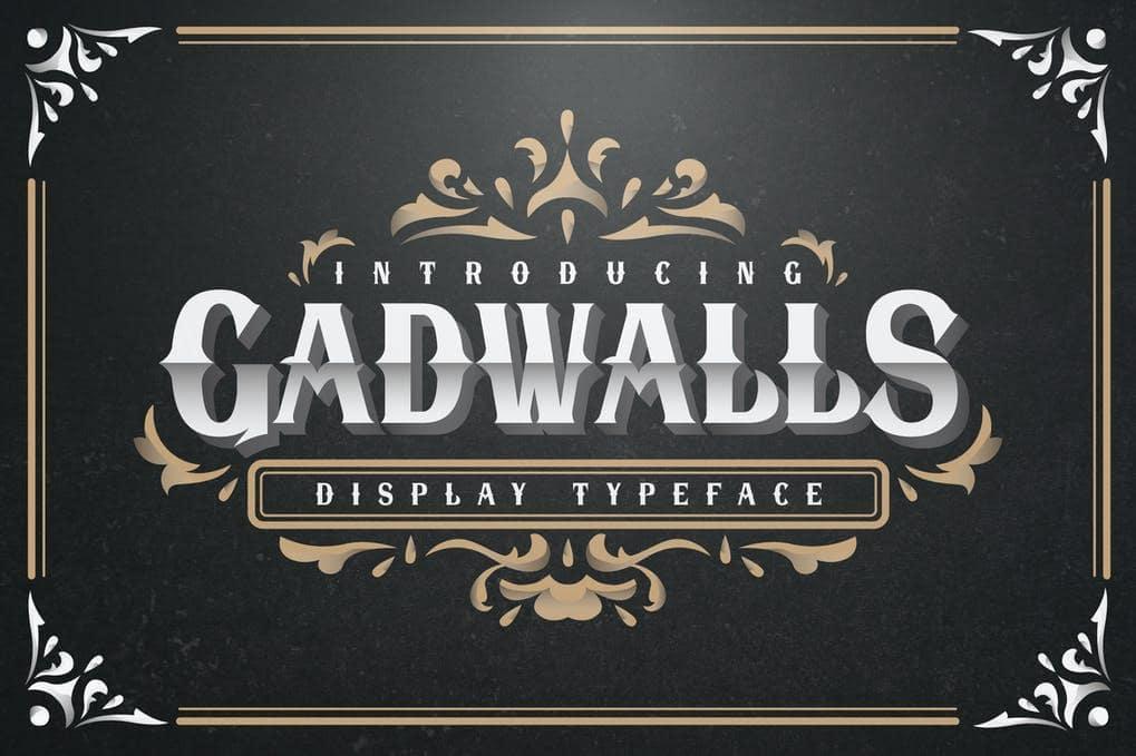 Gadwalls Display Font