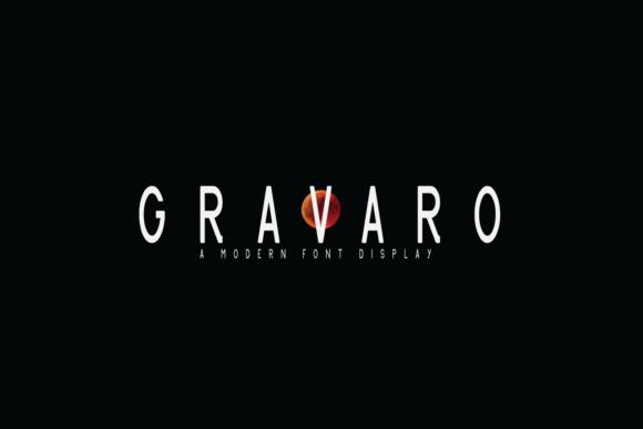 Gravaro Font