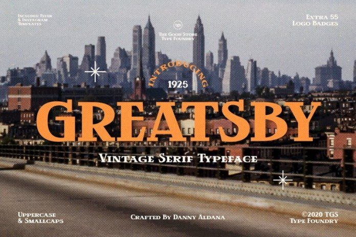 Greatsby Font