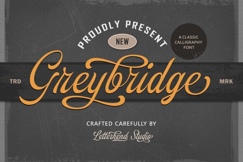 Greybridge - Classic Calligraphy