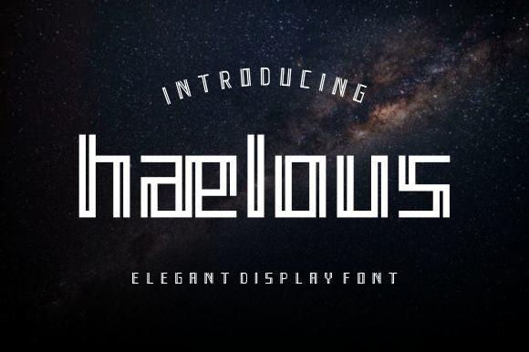 Haelous Font