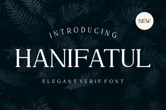 Hanifatul Font