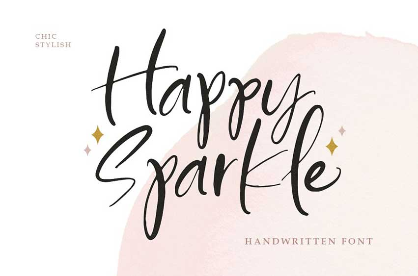Happy Sparkle Font