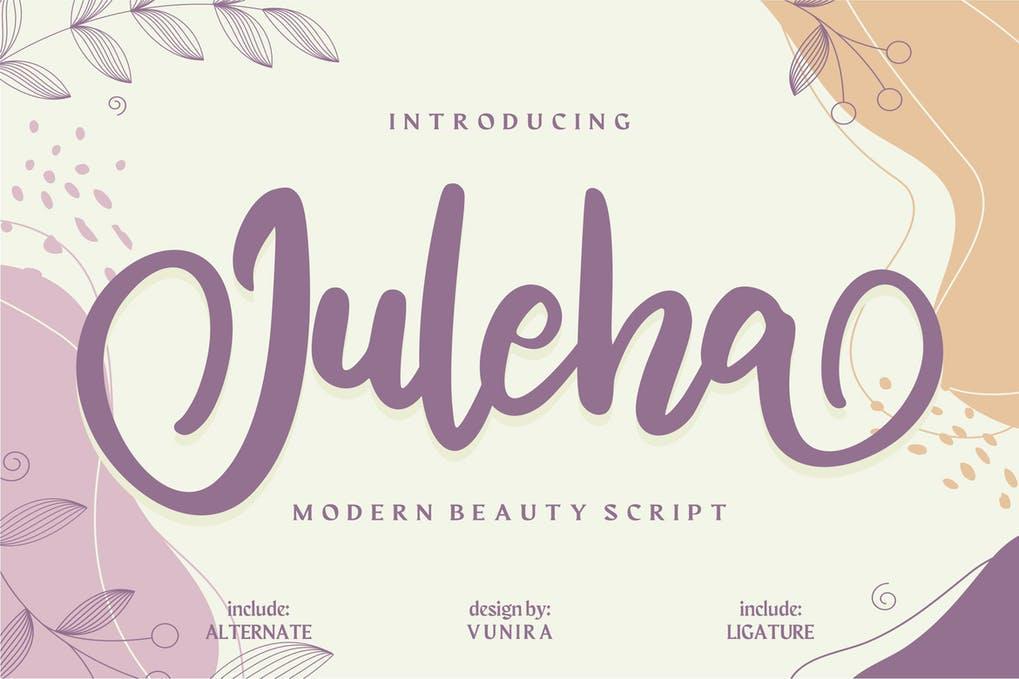 Juleha Modern Beauty Script
