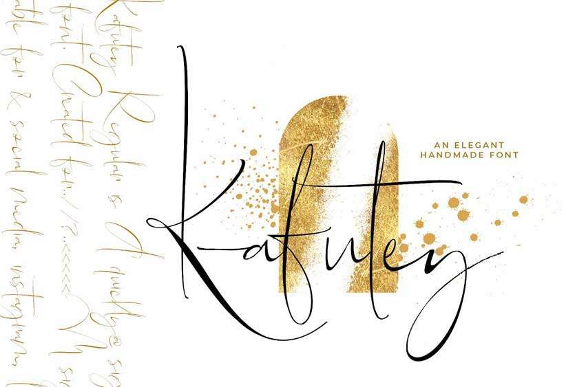 Kafutey - Elegant Handmade Fonts
