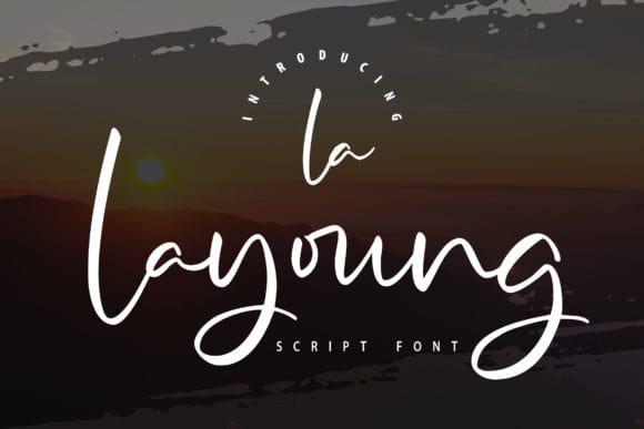 La Layoung Font