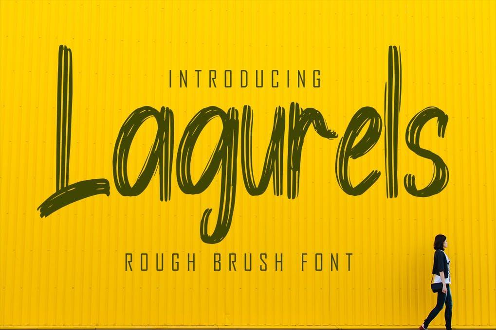 Lagurels Font