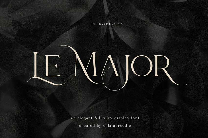 Le Major | Display Serif Font