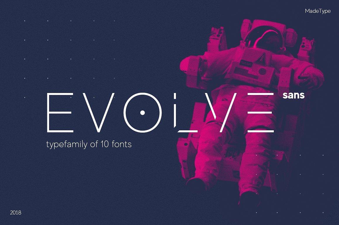 Evolve Font Family