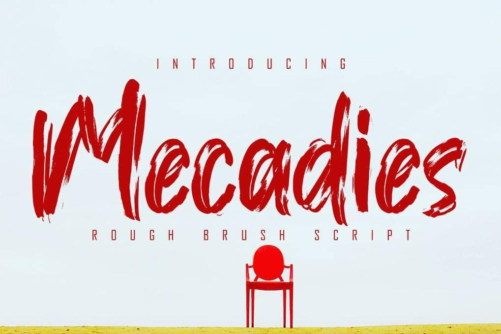 Mecadies Font