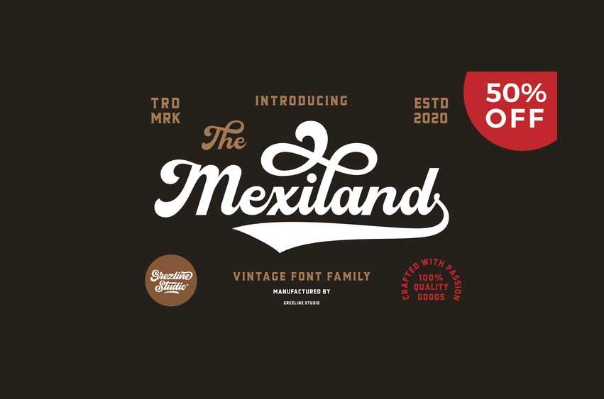 Mexiland Font