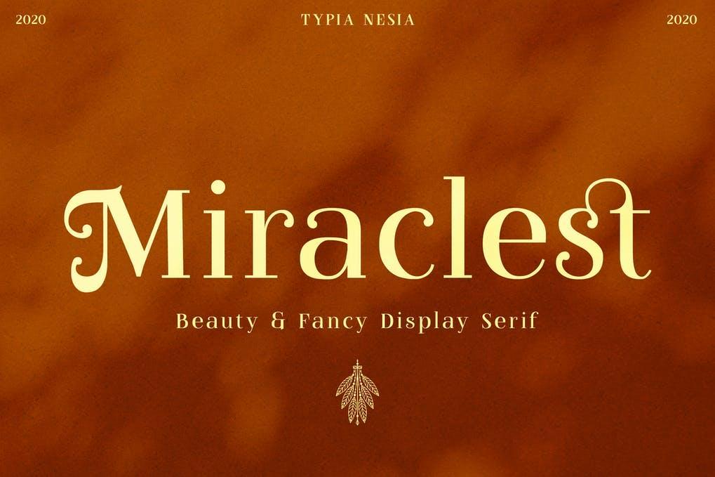 Miraclest Beautiful Serif