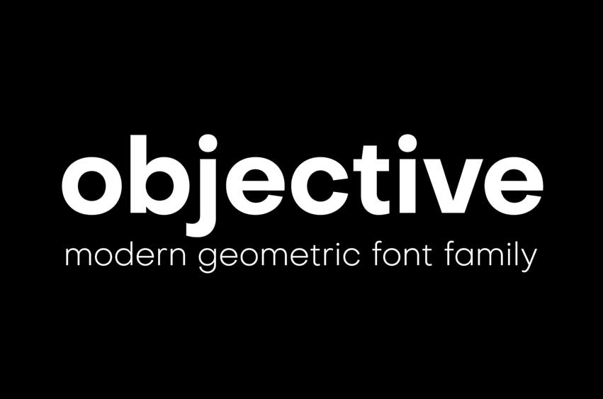 Objective Font Family