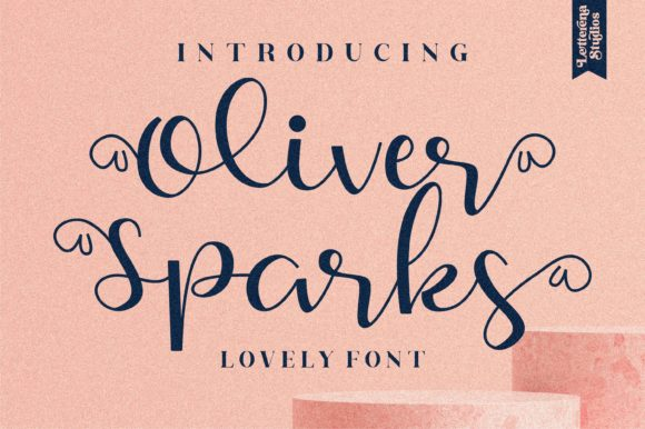 Oliver Sparks Font