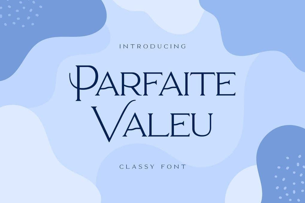 Parfaite Valeu Serif Font