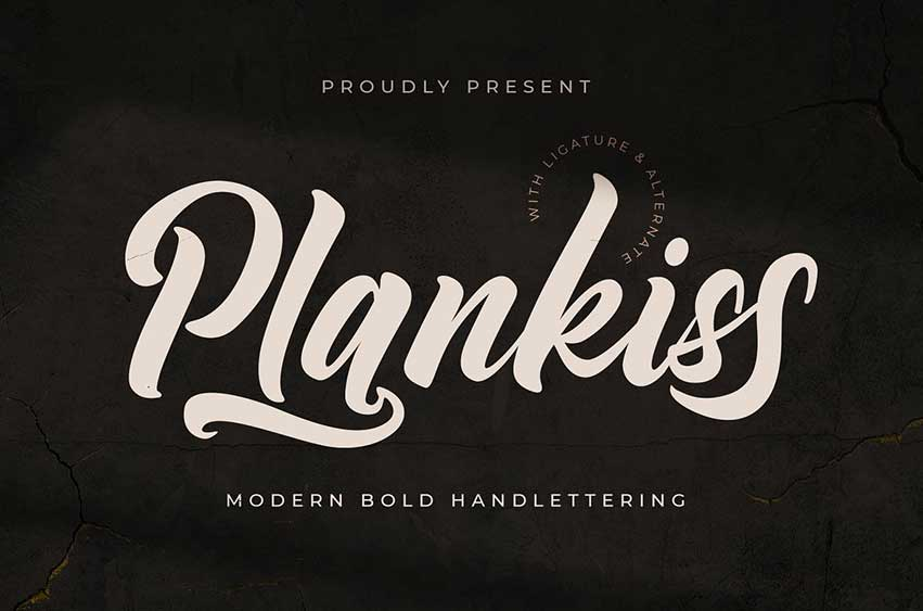 Plankiss Font