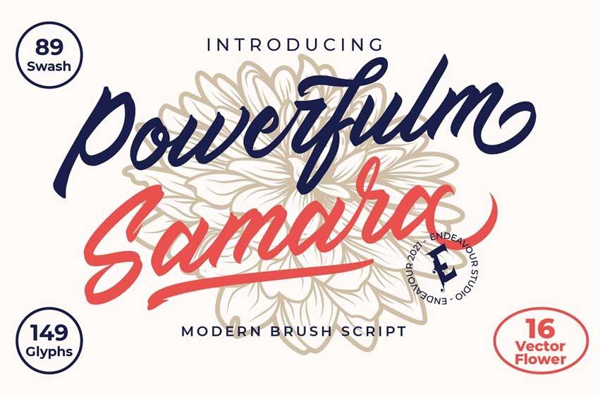 Powerfulm Samara Font