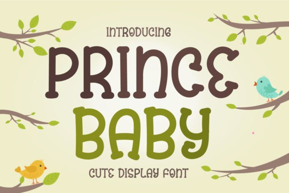 Prince Baby Font