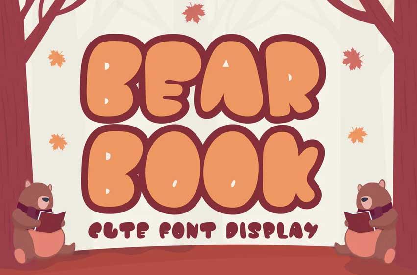 QR Bear Book