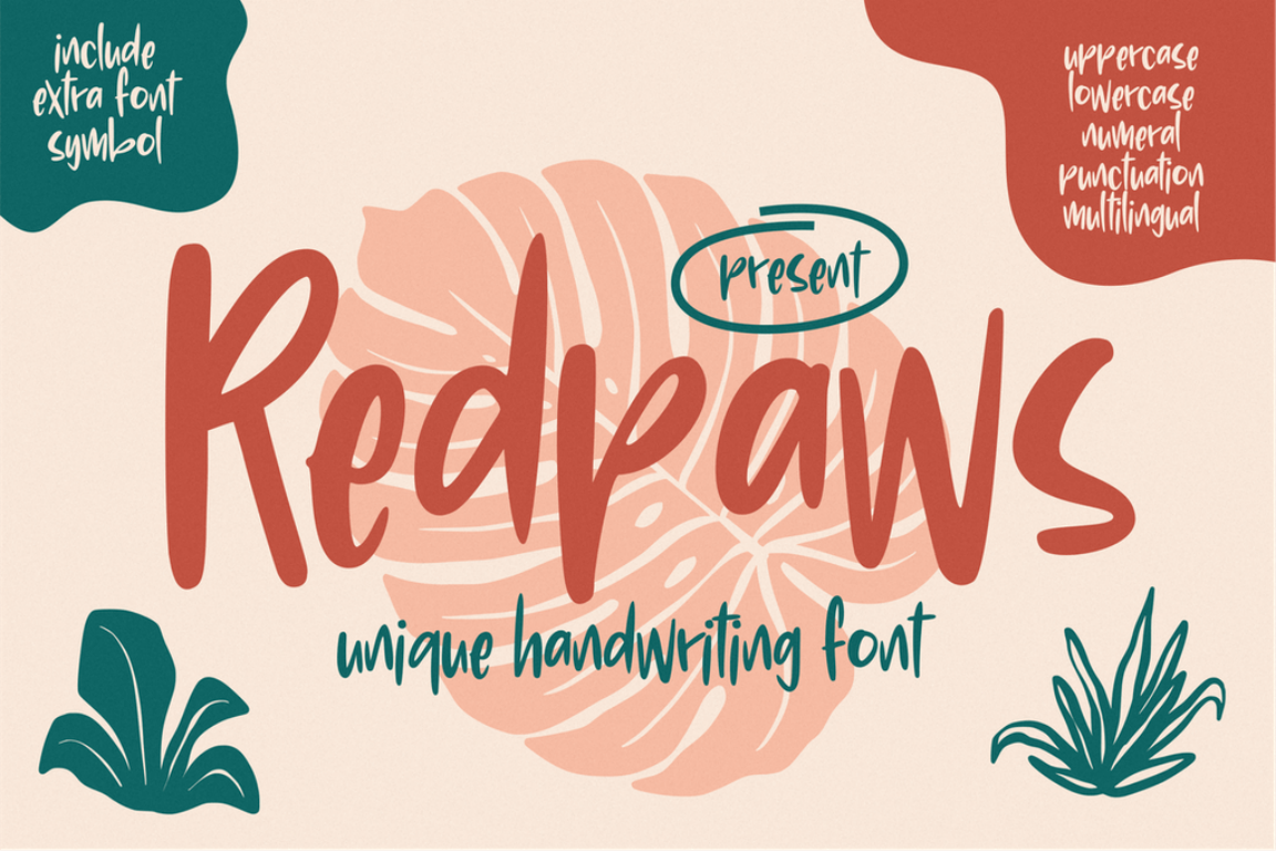 Redpaws Handwriting
