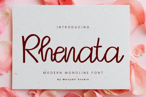 Rhenata Font