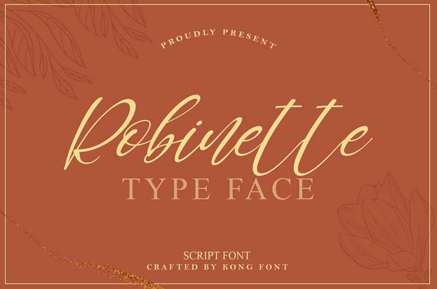 Robinette Font