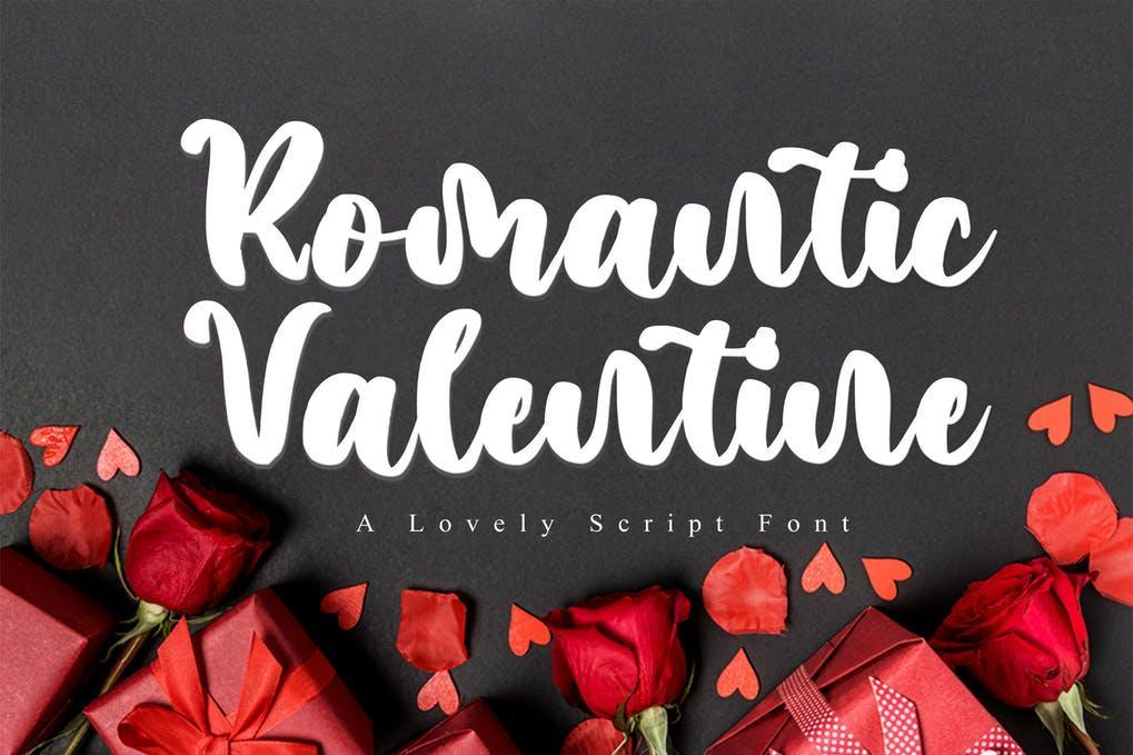 Romantic Valentine Font