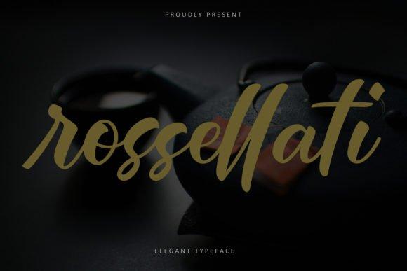 Rossellati Font