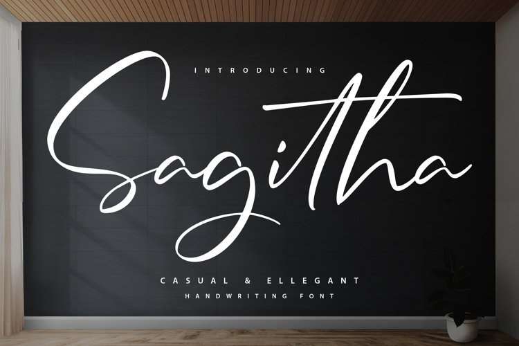 Sagitha Font