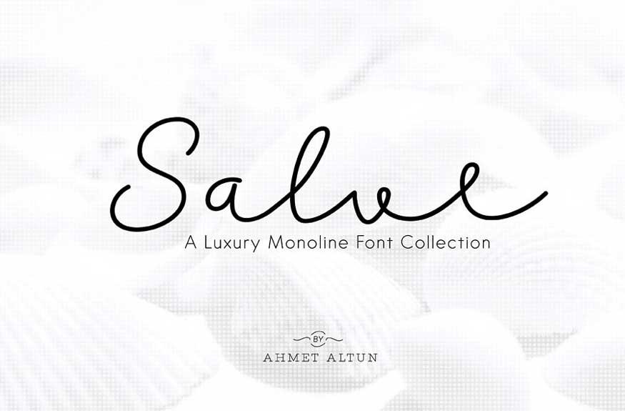 Salve Font Collection