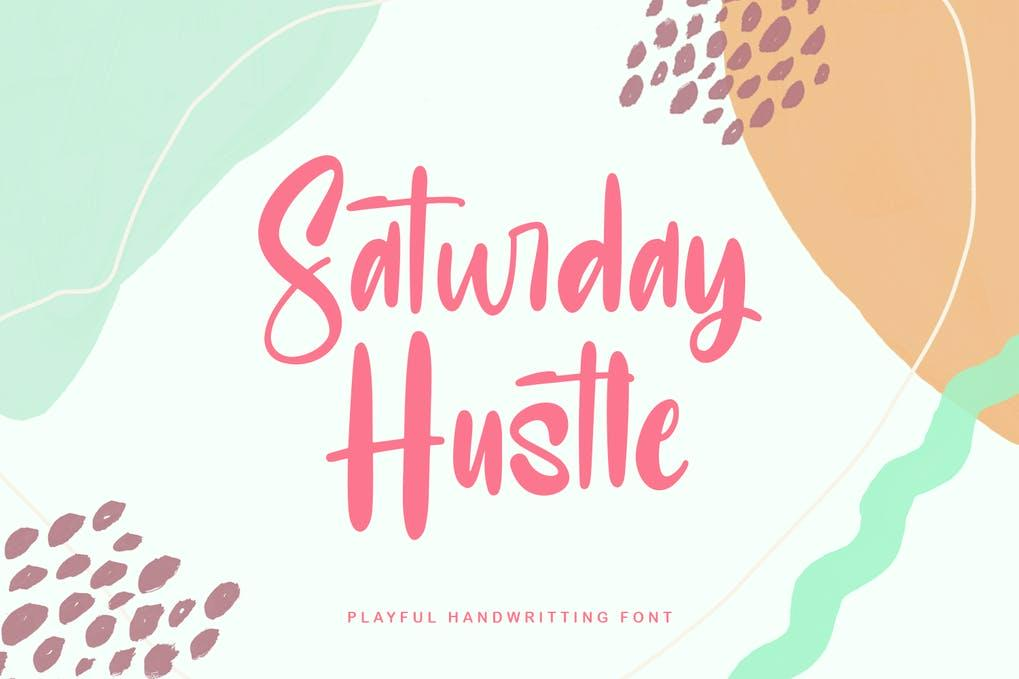 Saturday Hustle Playful Display